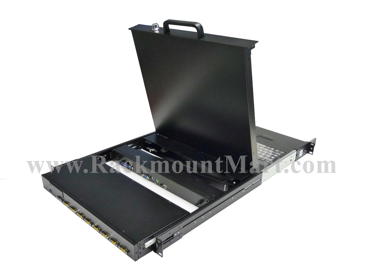 Rackmount Mart - 19 Inch Rackmount LCD Monitor & Rackmount