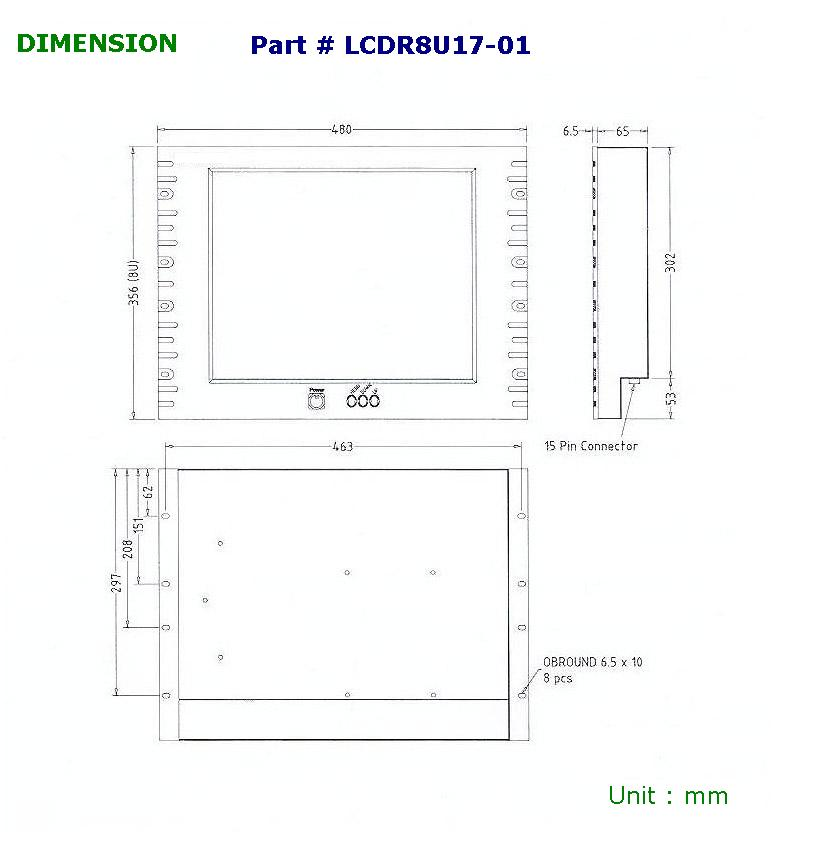 9u rack cabinet dimensions cosmecol for Kitchen cabinets 500mm depth