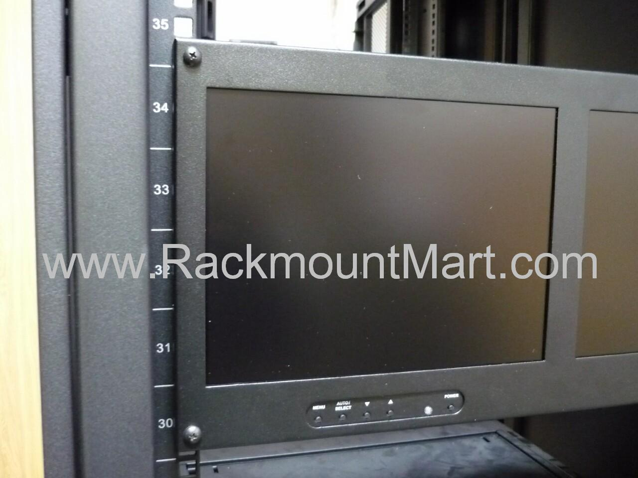 Rackmount Dual Lcd Monitor Dual Rack Mount Tft Monitor