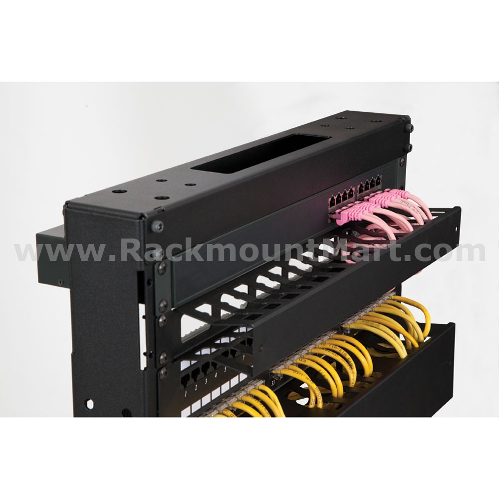 1u Finger Duct Cable Manager Part Cma08 Sku Sy 1903