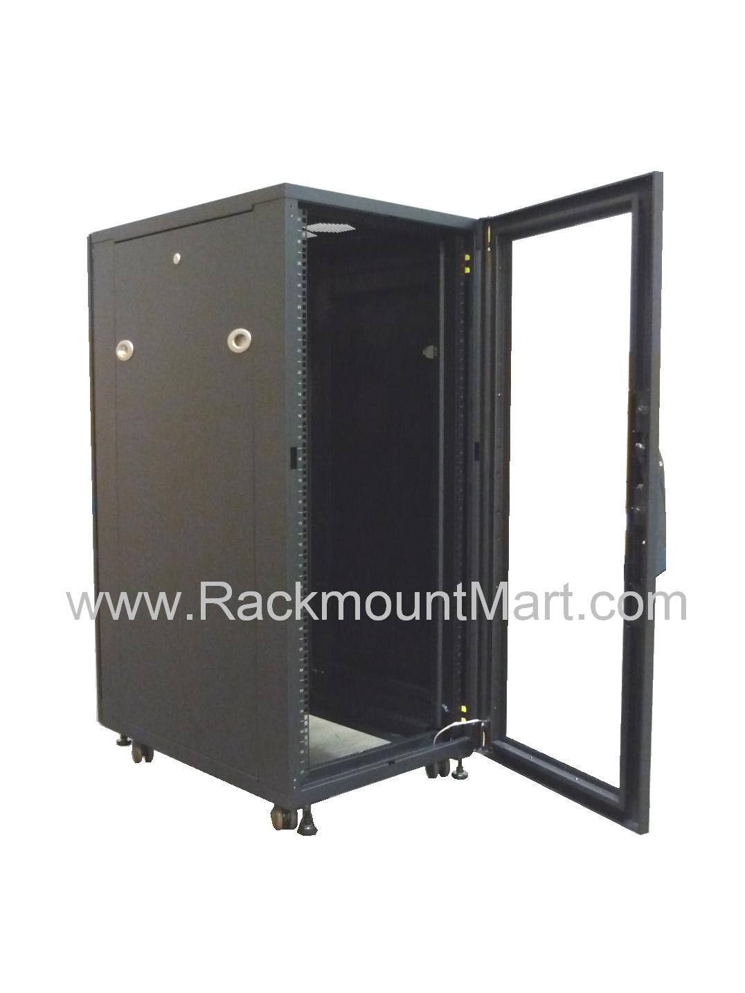 Cr1660 Cr1060 17u Equipment Rack Cabinet 870mm 34