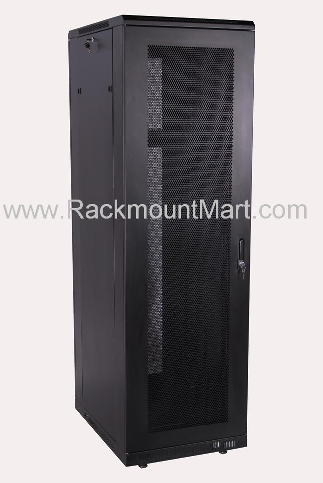 Cr3001 24u Server Cabinet 23 6 Quot Depth With Glass Door