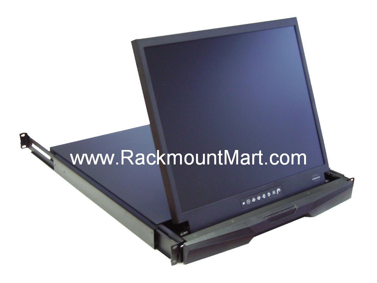 1u Rack Mount Lcd Monitor Drawer Taa Compliant Lcd1u19 012