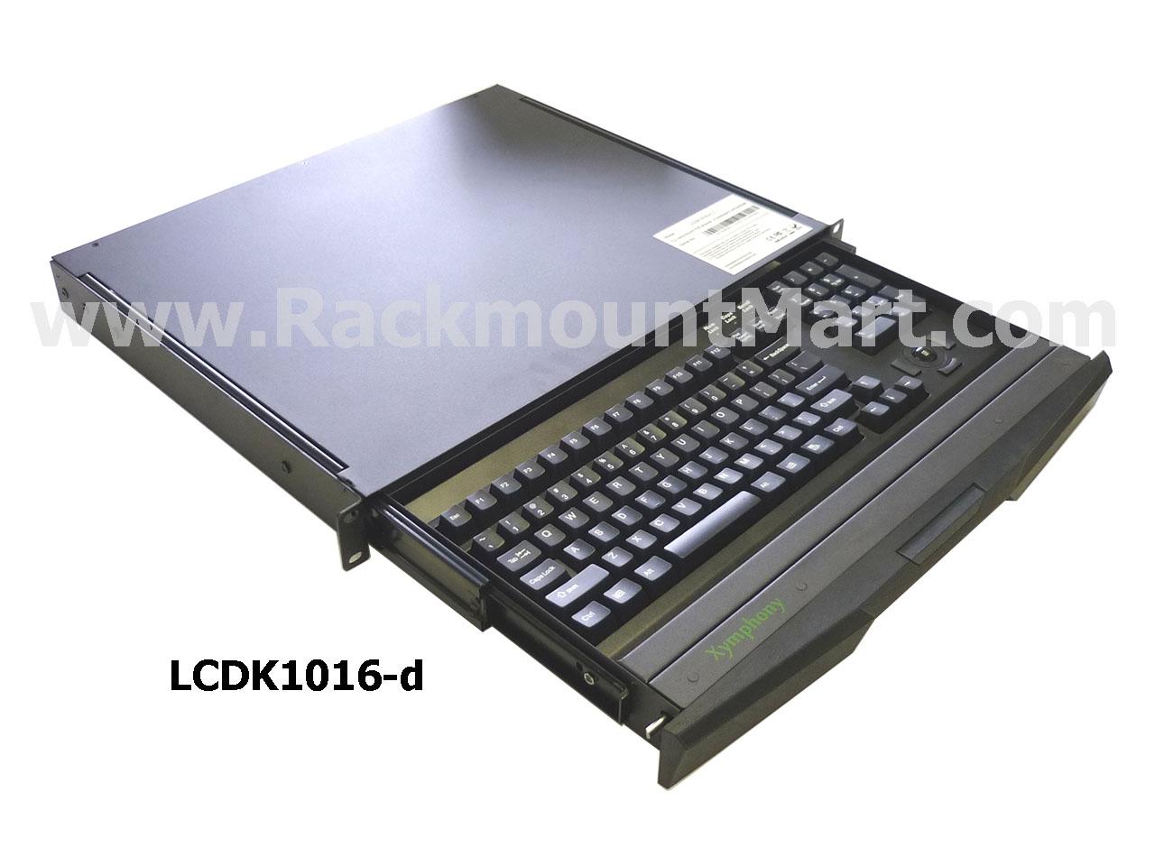 Lcdk1016 Rack Mount Keyboard Drawer Xymphony Rackmount