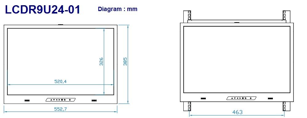 Lcdr9u24 01 24 Quot Industrial Grade Ultra High Resolution
