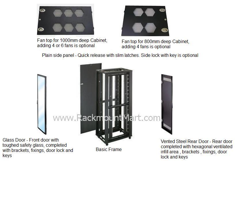 42u Server Racks Cr1616 Cr1016
