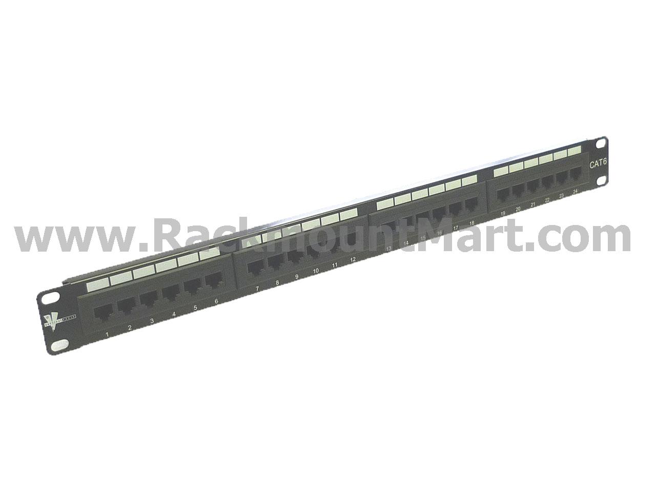Cat5e 24 Port 110 Idc Patch Panel Part Pa2403 C6 19inch Cat6 Utp T568a T568b Wiring 1ru Termination