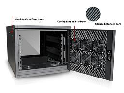 Rackmount Mart - Server Rack - Sound Proof Cabinet Server Rack