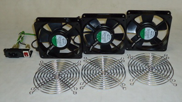 Superieur Cabinet Cooling Fan U2013 Part# RA4100 AC 115V Fan Set For CR5XXX Series Cabinet  ONLY