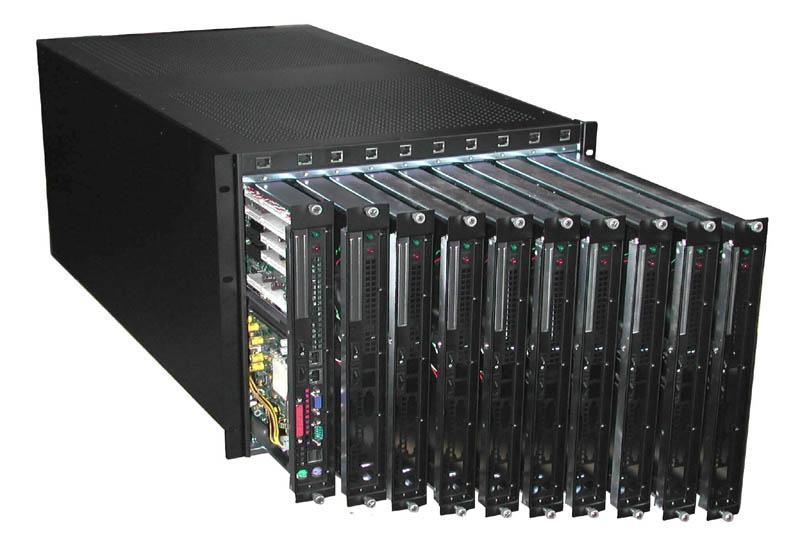 Rackmount Mart 8u Rackmount Blade Server Chassis Rm8003