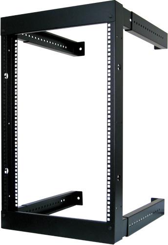 16U Wall Mount Open Fixed, Adjustable Rack - WR1006-F